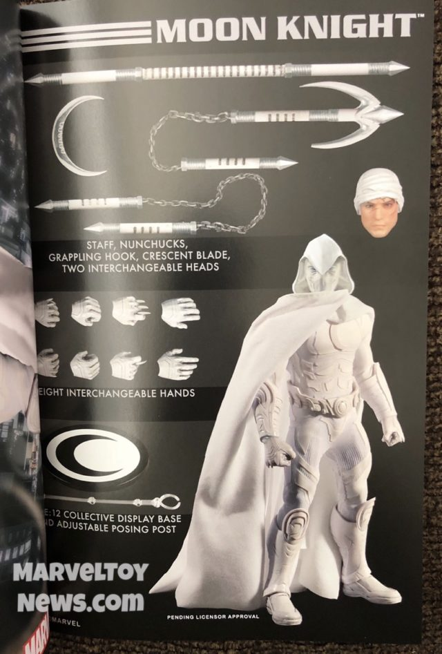 2019 Toy Fair Mezco Toyz Moon Knight ONE:12 Collective Figure