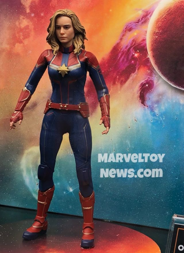 "2019 Toy Fair Mezco Toyz Captain Marvel 6"" Movie Figure"