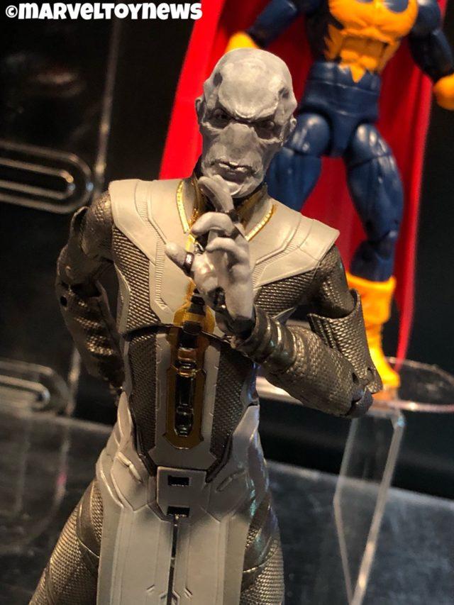 Close-Up of Marvel Legends 2019 Ebony Maw Figure at NY Toy Fair