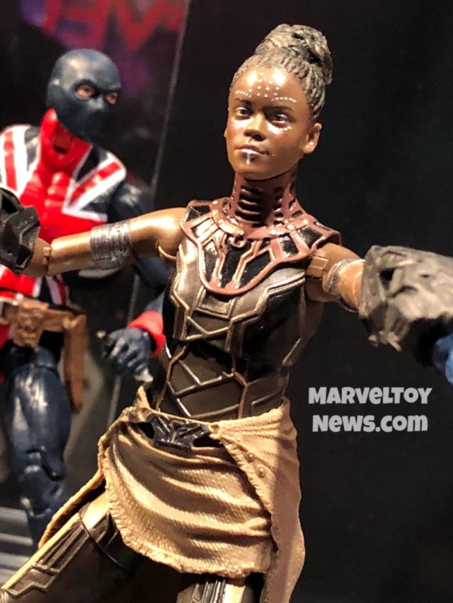 Close-Up of Shuri Marvel Legends Avengers Endgame Figure