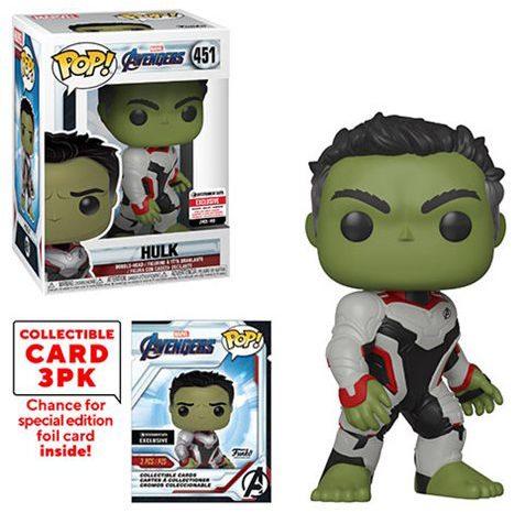 Avengers Endgame Funko POP Vinyls Exclusive Hulk Movie Figure
