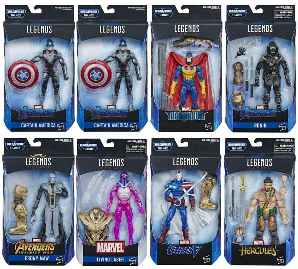 Marvel Legends CAPTAIN AMERICA QUANTUM ARMORED THANOS AVENGERS ENDGAME IN HAND