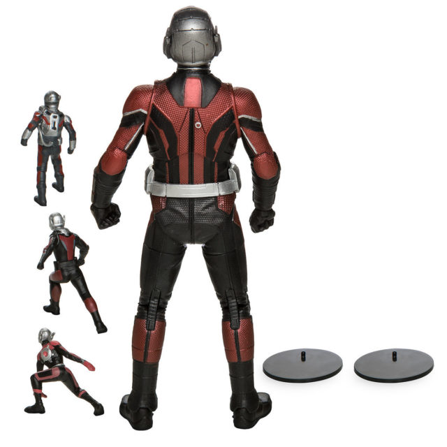 Back of Ant-Man and the Wasp Marvel Select Ant-Man Figure