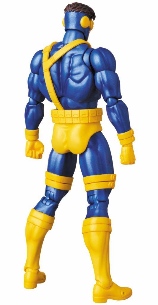 Back of Medicom MAFEX X-Men Cyclops Figure