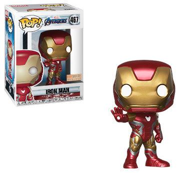 Box Lunch Exclusive Endgame Iron Man POP Vinyls Figure