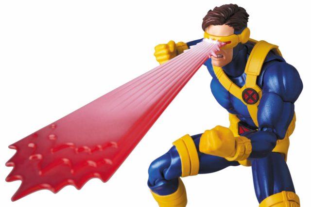 Full Blast Optic Blast Effects Piece on MAFEX Cyclops X-Men Figure