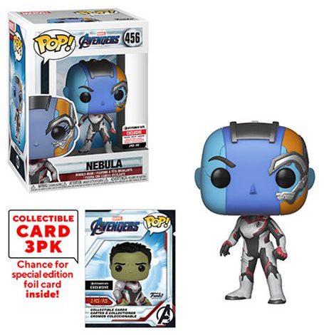 Funko POP Avengers Endgame Nebula Figure EE Exclusive