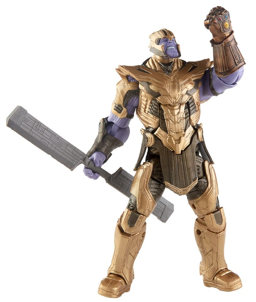 Marvel Legends Hercules Avengers Issue Armored Thanos BAF