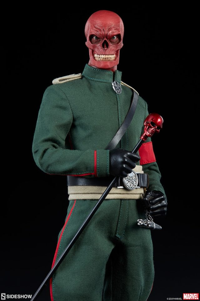 Marvel Red Skull 12 Inch Figure by Sideshow Collectibles