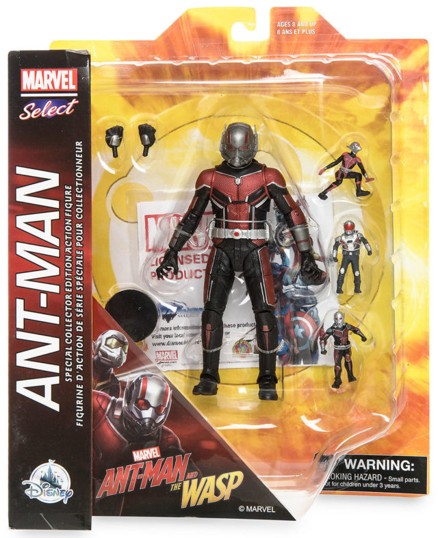 Marvel Select Ant-Man Figure Packaged