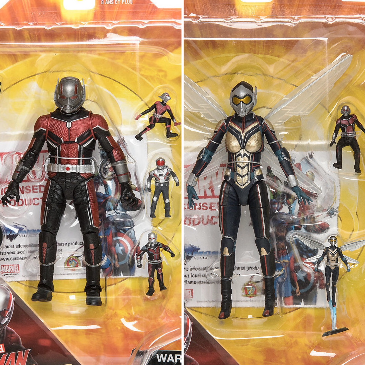 Order For Up Exclusive Ant Select Marvel Wasp Figures Man And The LMVpGqUSz