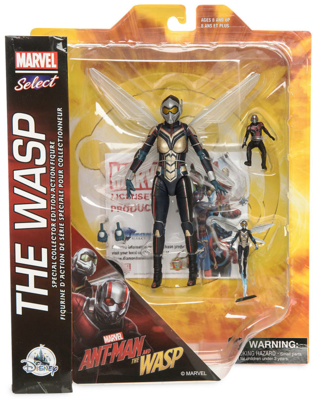 Marvel Select Wasp Figure Packaged