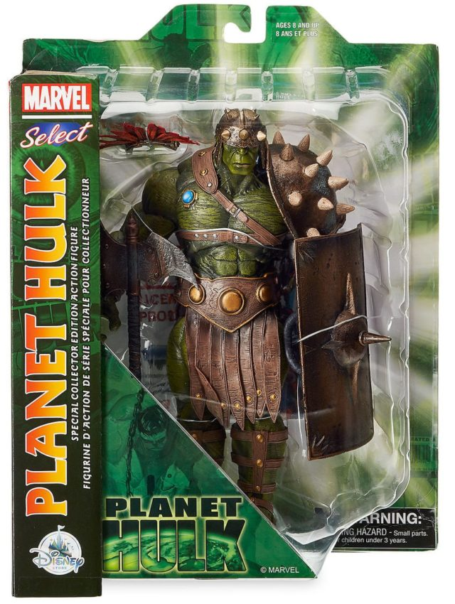 Planet Hulk Marvel Select Figure Packaged