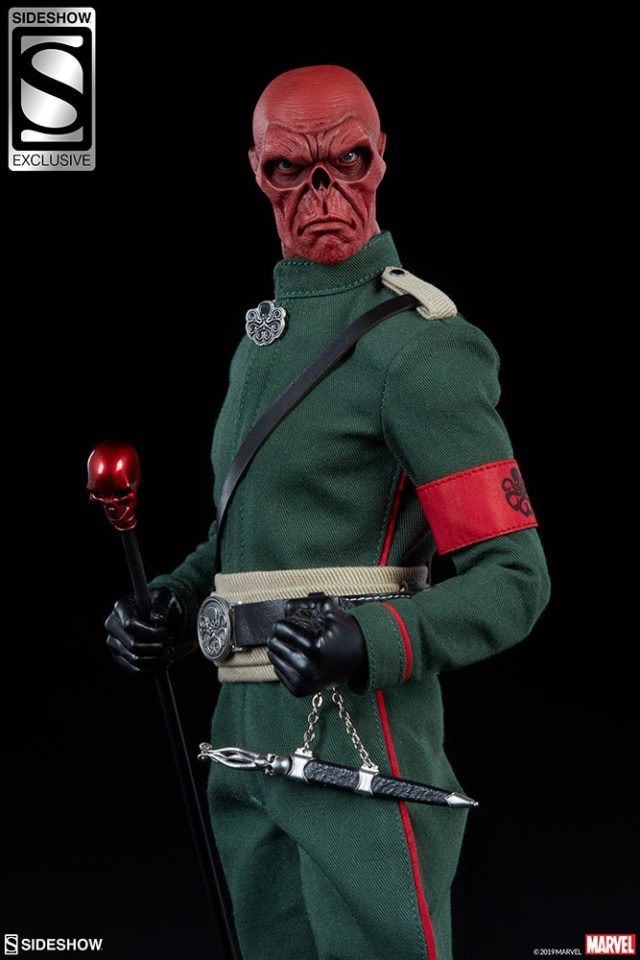 Red Skull Sideshow Exclusive Alternate Portrait Head Sculpt