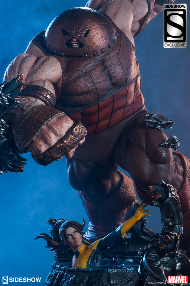 Sideshow Exclusive Juggernaut Maquette with Kitty Pryde Statue