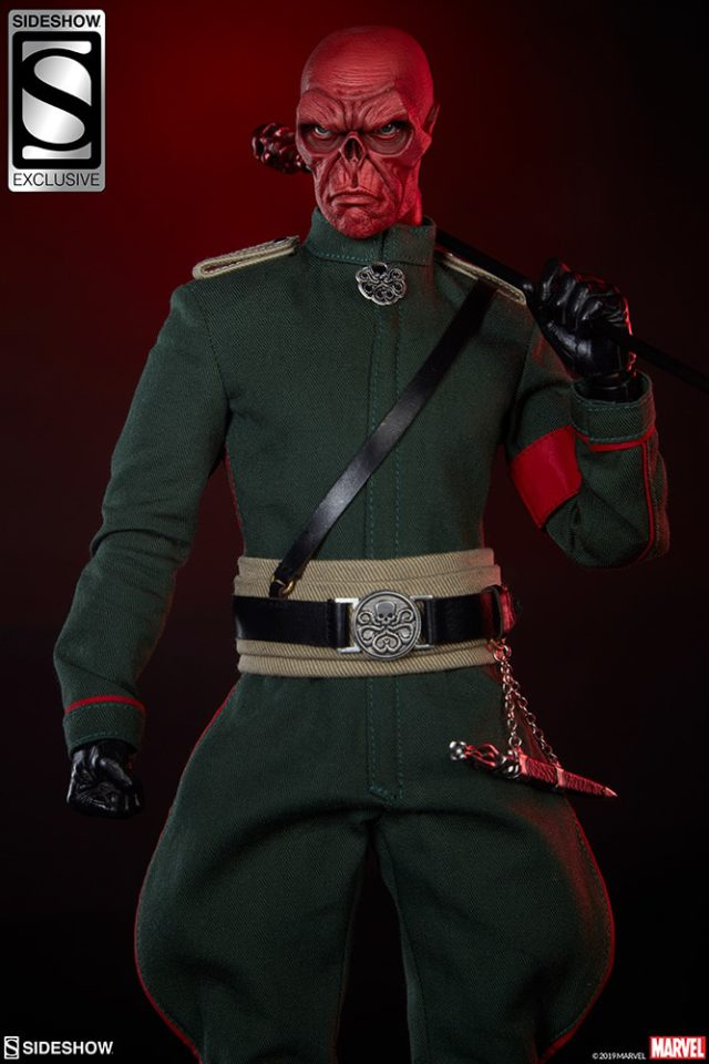 Sideshow Exclusive Red Skull Sixth Scale Figure Alternate Portrait