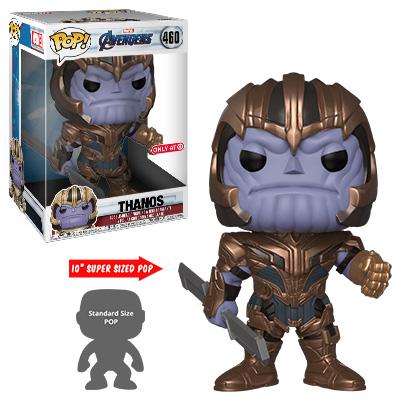 Target Exclusive 10 Inch Thanos Funko POP Vinyls Figure Endgame