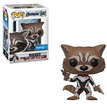 Walmart Exclusive Funko POP Endgame Rocket Raccoon Figure