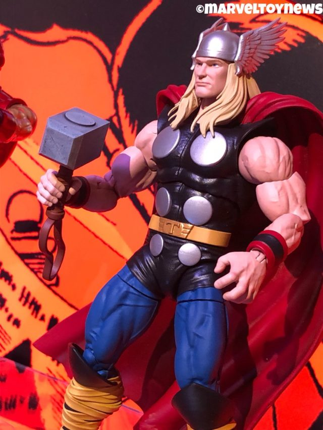 Marvel Legends 80 Years Series Thor Close-Up Classic Comic Book