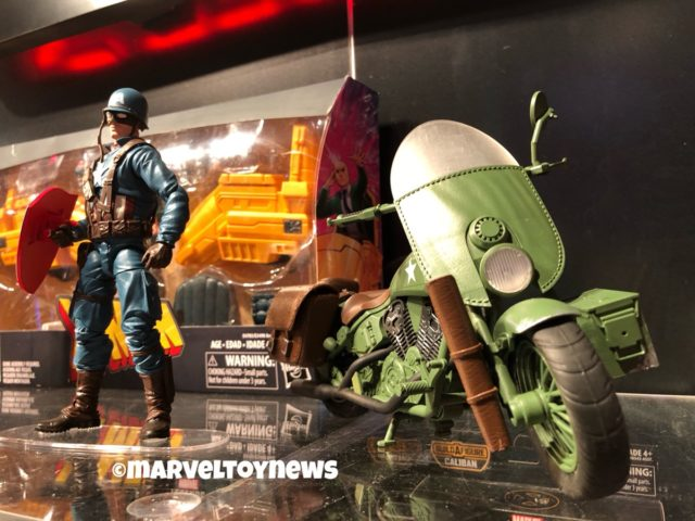 Hasbro Marvel Legends WWII Motorcycle for Ultimate Captain America