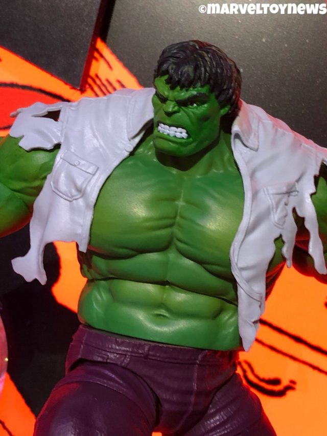 Toy Fair 2019 Marvel Legends Hulk Figure