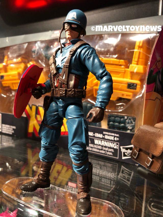 Side View of Ultimate Captain America World War II Figure Hasbro 2019