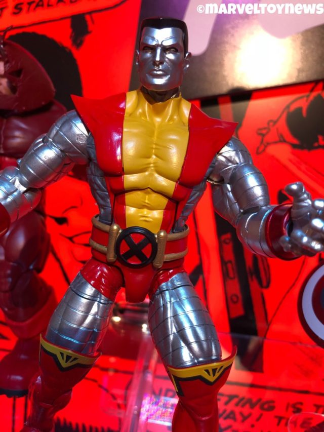 Marvel Legends 2019 Colossus Figure 80th Anniversary
