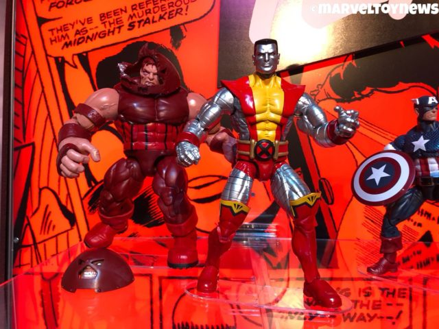 2019 Toy Fair Juggernaut and Colossus Marvel Legends Figures