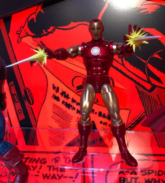 Marvel Legends 80 Years Iron Man Figure Toy Fair 2019