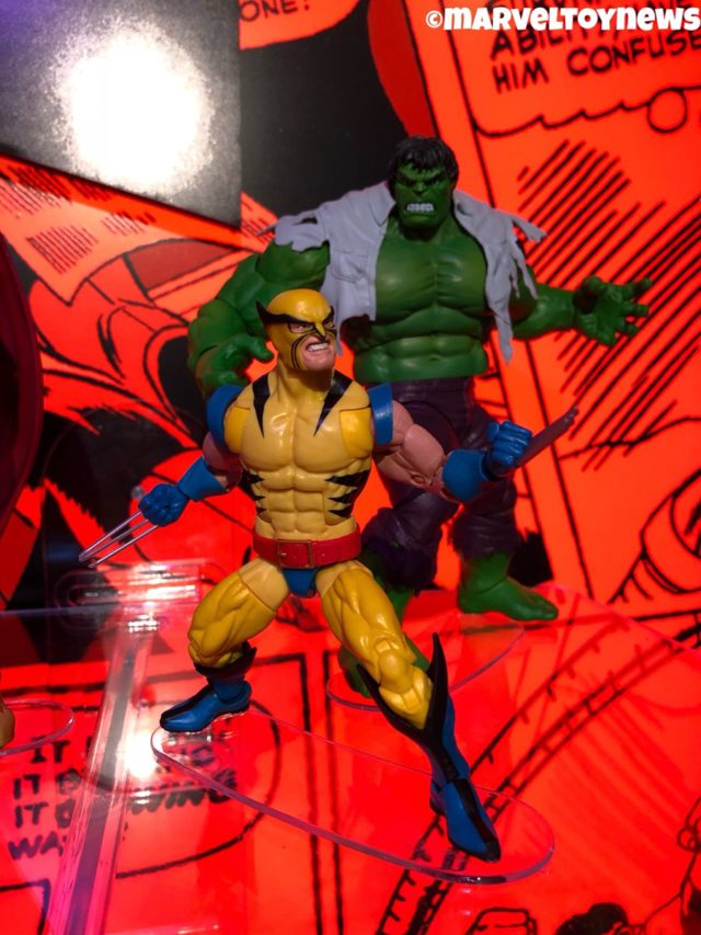 80 Years Marvel Legends First Appearance Wolverine & Hulk Figures