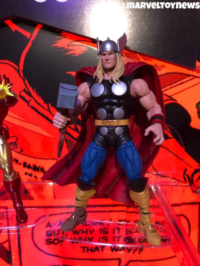 Hasbro 2019 Toy Fair Marvel Legends Thor Comic Book Figure 80th Anniversary
