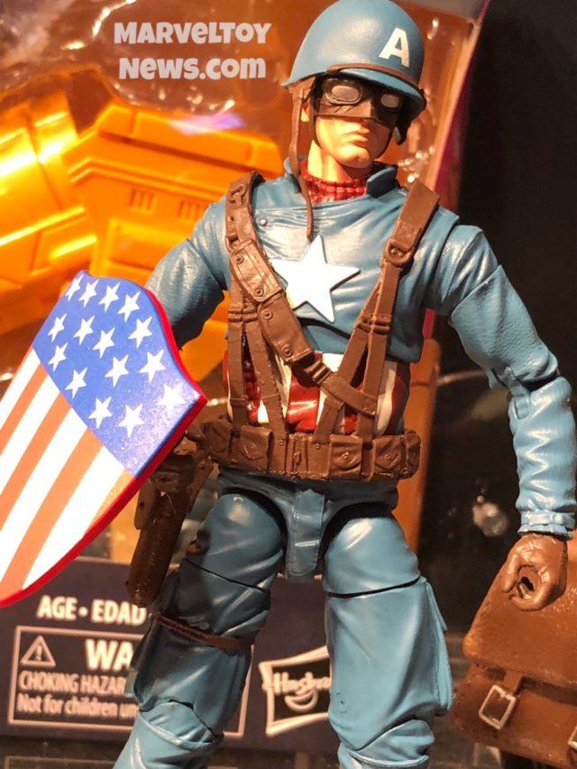 2019 Marvel Legends Ultimate Captain America WWII Figure Close-Up