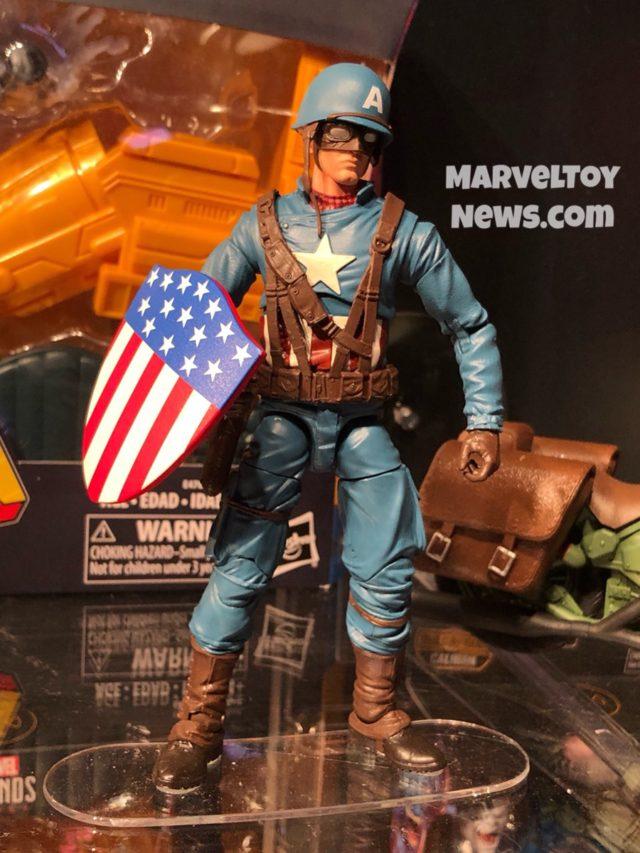 Marvel Legends Ultimate WWII Captain America Figure