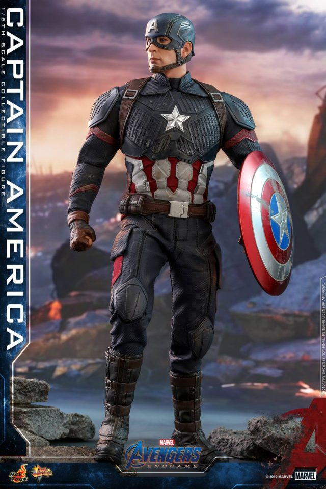 Avengers Endgame Hot Toys Captain America Figure