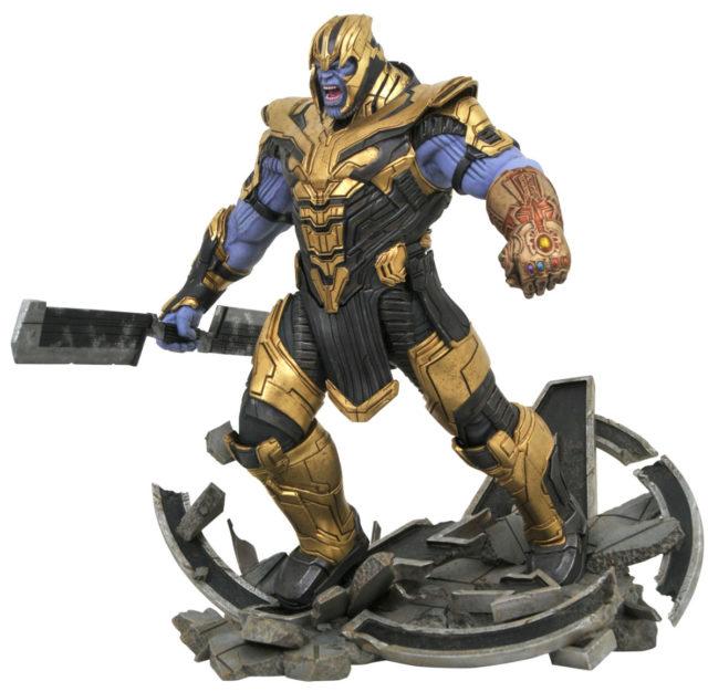 Diamond Select Marvel Milestones Thanos Endgame Statue