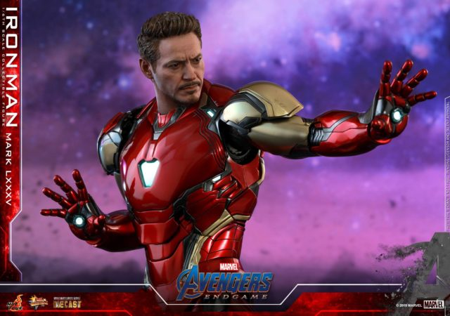 Endgame Hot Toys Iron Man RDJ Head Tony Stark Figure