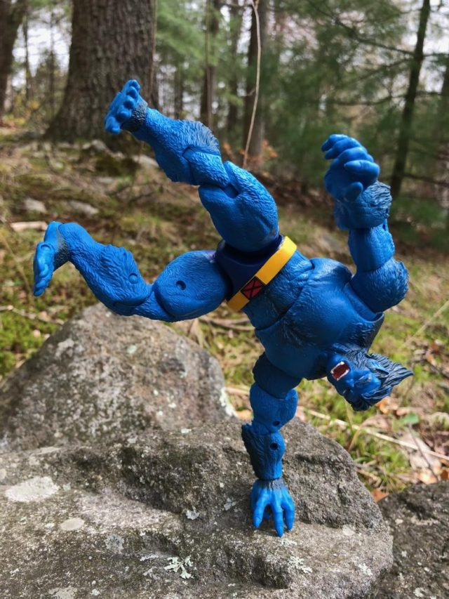 Hasbro X-Men Legends Beast Figure On One Hand