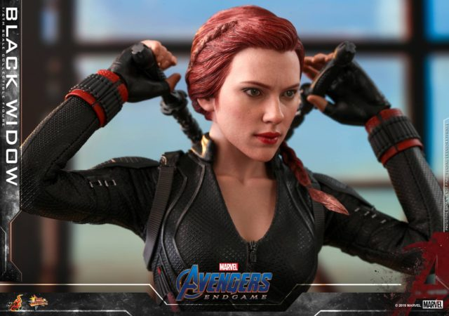 Hot Toys Avengers Endgame Black Widow Head Close-Up