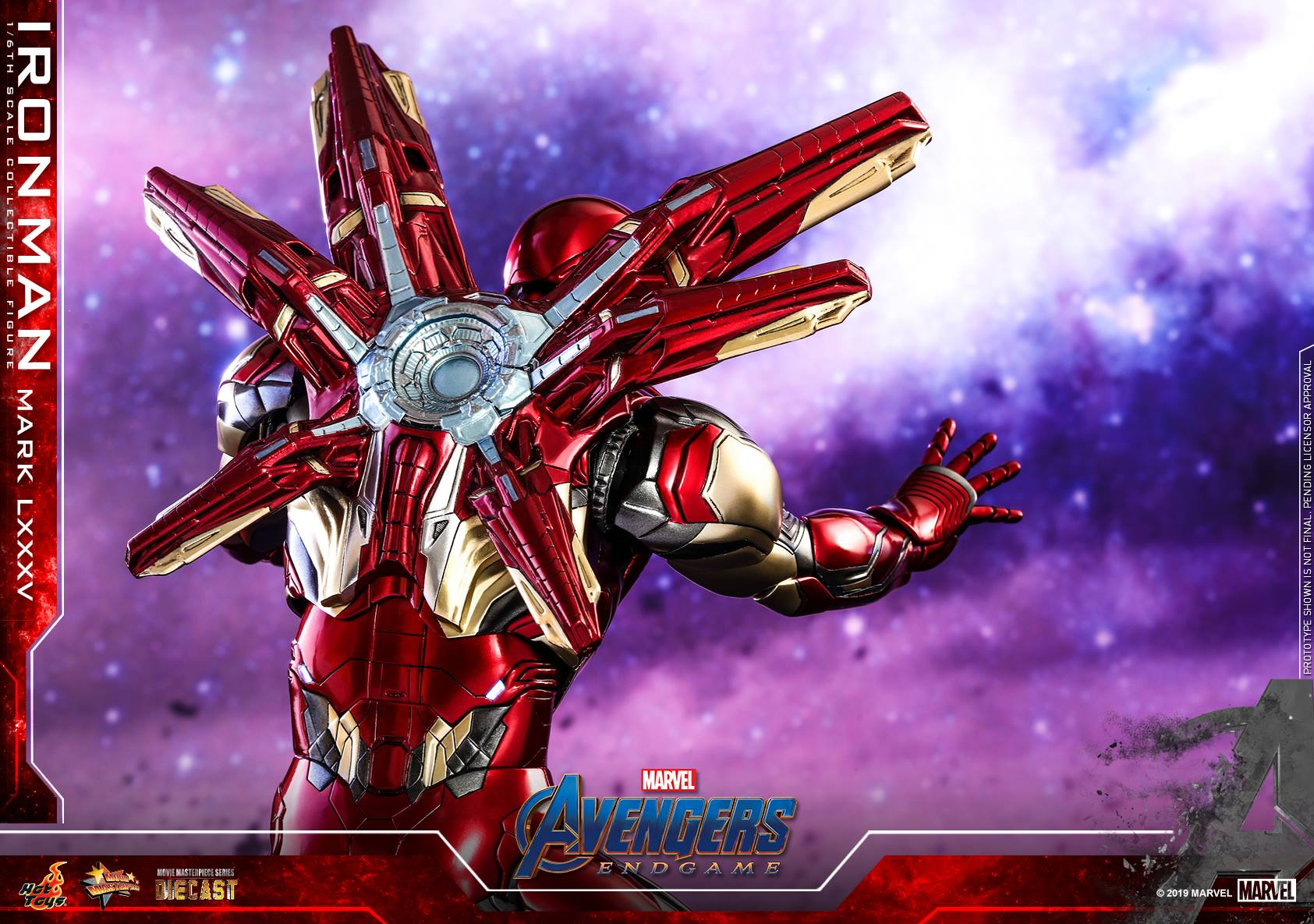 Hot Toys Avengers Endgame Armored Thanos & Iron Mark 45 Figures! - Marvel  Toy News