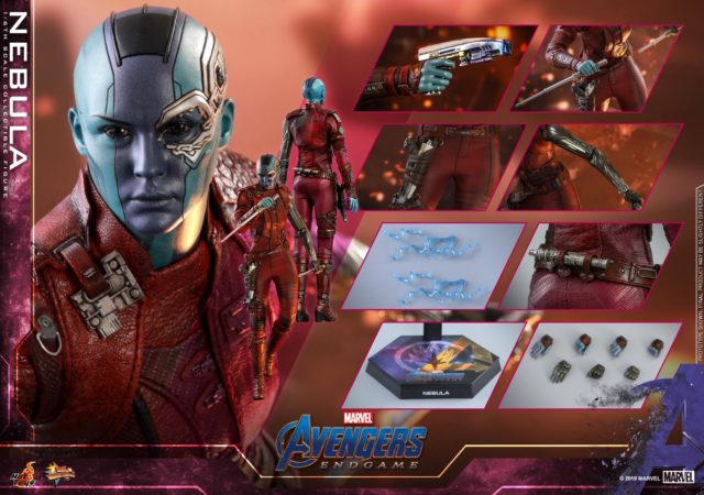 Hot Toys Nebula Figure and Accessories