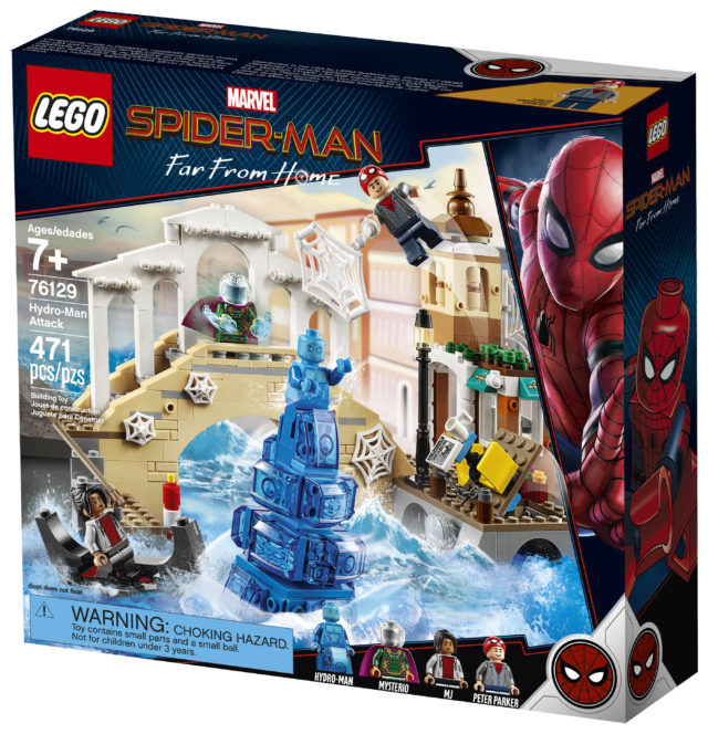 LEGO 76129 Hydro-Man Attack Box Spider-Man Far From Home