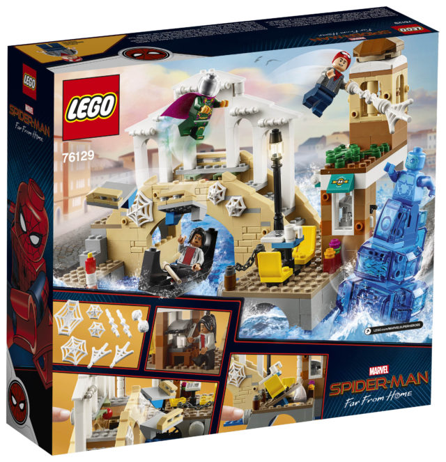 LEGO Spider-Man Far From Home Hydro Man Attack Box Back