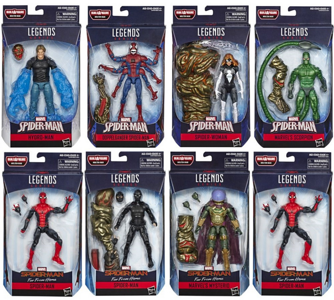 Spider Man Far From Home Marvel Legends Series Up For Order