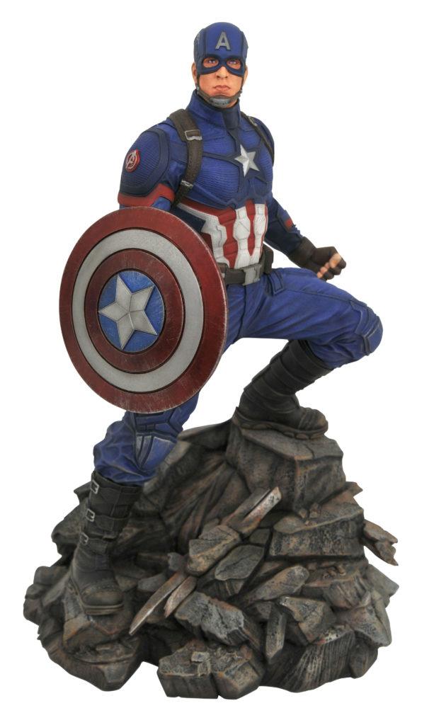 Marvel Premier Collection Endgame Captain America Statue Resin