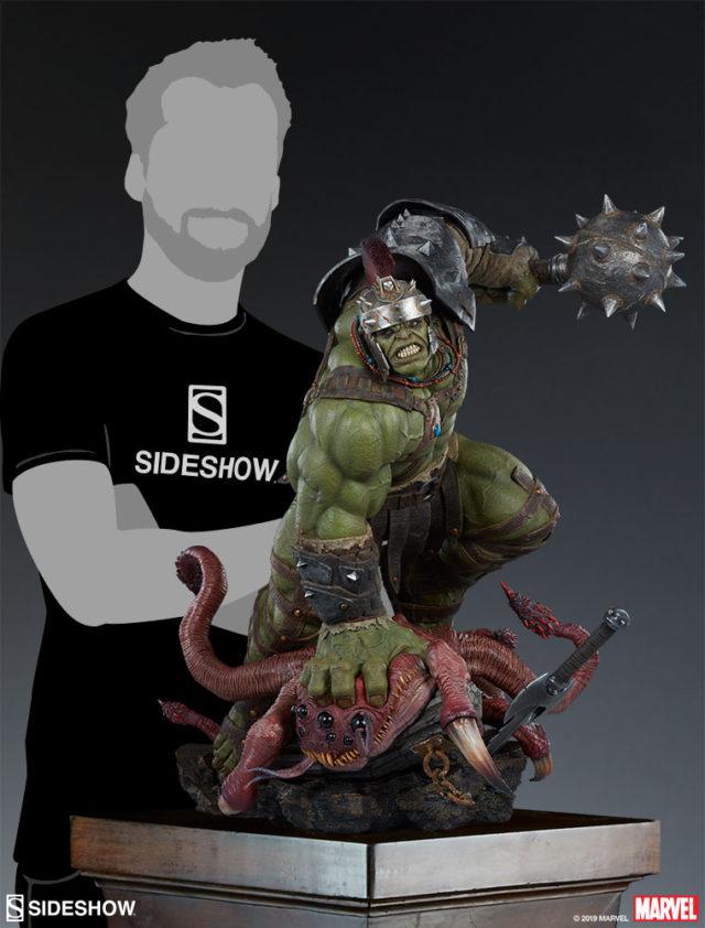 Sideshow Gladiator Hulk Maquette Scale Photo