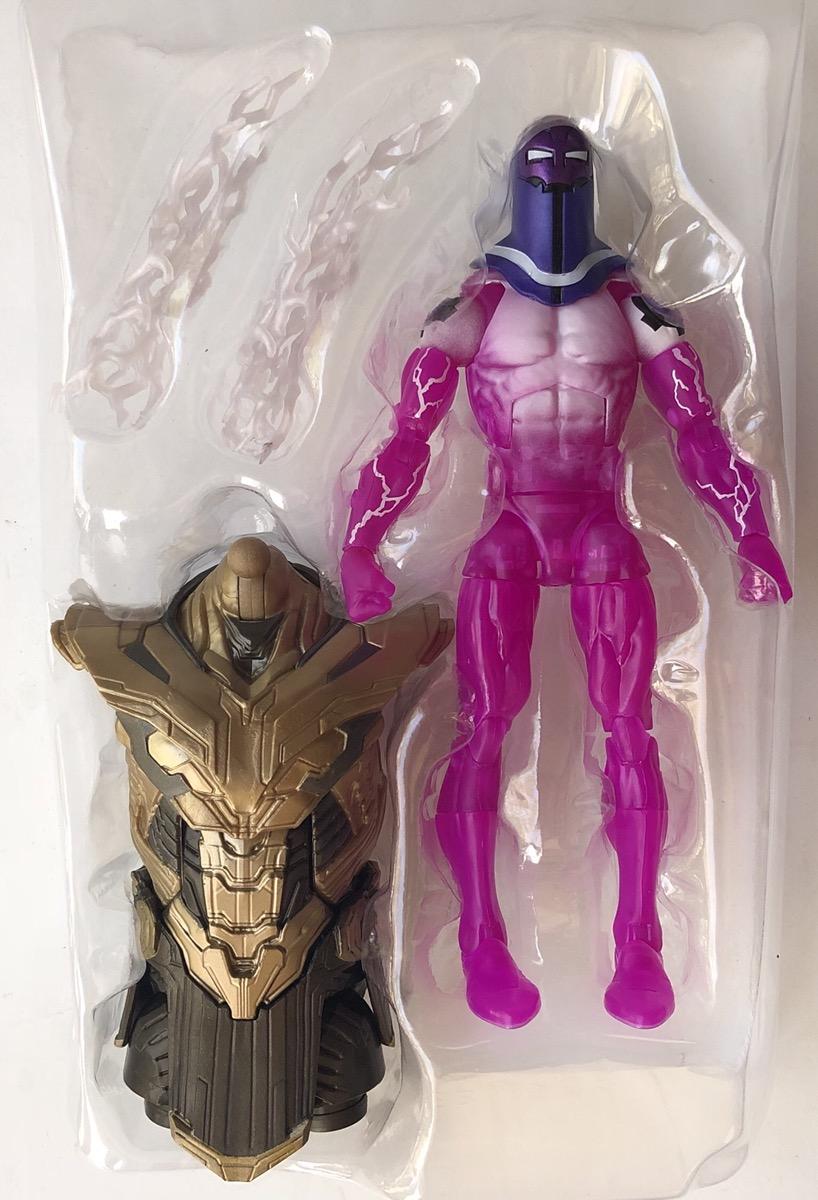 Marvel Legends Living Laser and Avengers Endgame Thanos baf Torso