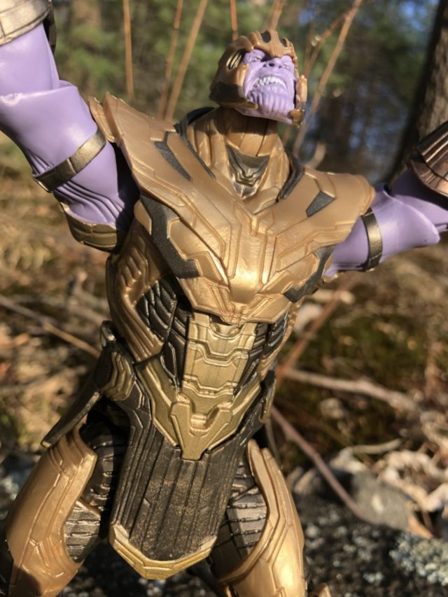 Review Marvel Legends Endgame Thanos In Armor Build A