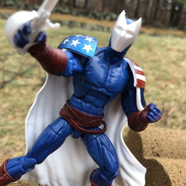 Citizen V Marvel Legends Figure Close-Up