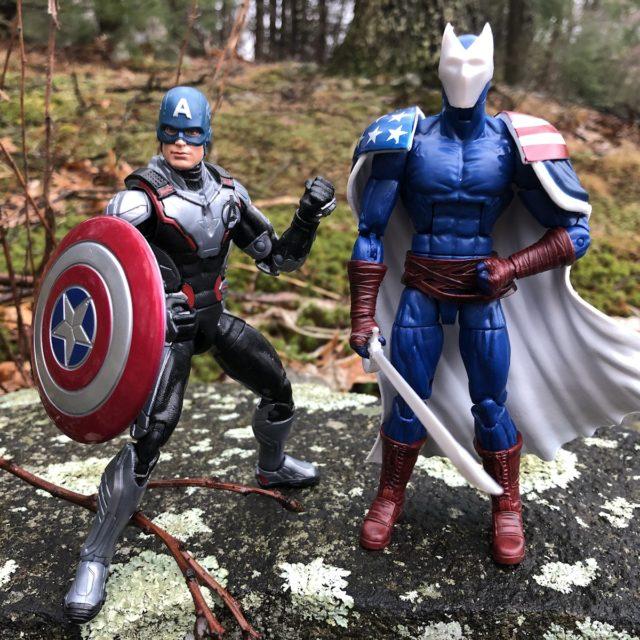 Marvel Legends Avengers 2019 Citizen V and Captain America Figures