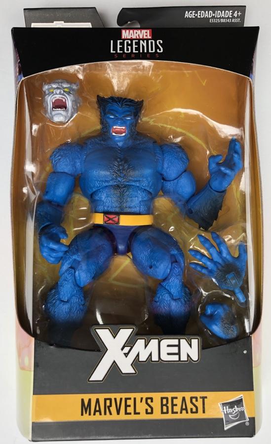 Hasbro Marvel Legends 2019 X-Men Beast Packaged